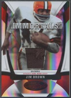2009 Certified #210 Jim Brown Jersey #087/100