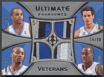 2008/09 Ultimate Collection #UFVOMAG J.J. Redick, Dwight Howard, Jameer Nelson, & Rashard Lewis Patch #14/20