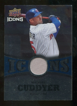 2009 Upper Deck Icons Icons Jerseys #CU Michael Cuddyer