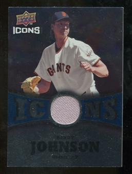 2009 Upper Deck Icons Icons Jerseys #RJ Randy Johnson