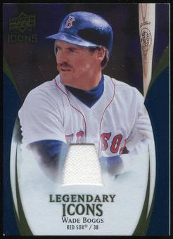 2009 Upper Deck Icons Legendary Icons Jerseys #WB Wade Boggs