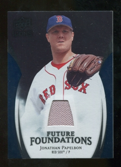 2009 Upper Deck Icons Future Foundations Jerseys #JP Jonathan Papelbon