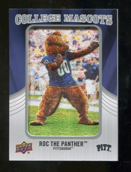 2012 Upper Deck College Mascot Manufactured Patch #CM40 Roc the Panther A