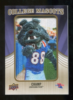 2013 Upper Deck College Mascot Manufactured Patch #CM66 Champ D