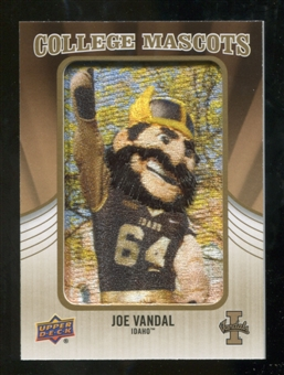 2013 Upper Deck College Mascot Manufactured Patch #CM70 Joe Vandal D