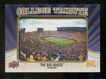 2013 Upper Deck College Mascot Manufactured Patch #CM76 Big House D