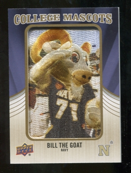 2013 Upper Deck College Mascot Manufactured Patch #CM77 Bill The Goat D