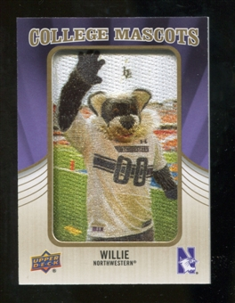 2013 Upper Deck College Mascot Manufactured Patch #CM79 Willie D