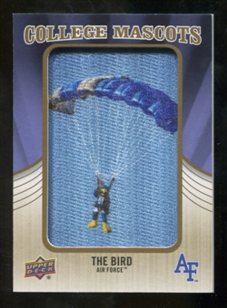 2013 Upper Deck College Mascot Manufactured Patch #CM95 Bird C