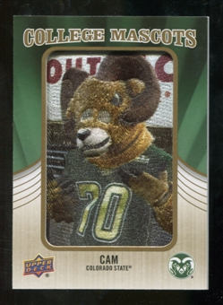 2013 Upper Deck College Mascot Manufactured Patch #CM96 CAM C