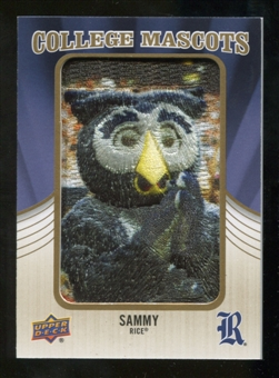 2013 Upper Deck College Mascot Manufactured Patch #CM103 Sammy C