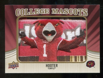 2013 Upper Deck College Mascot Manufactured Patch #CM105 Hooter C
