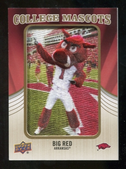 2013 Upper Deck College Mascot Manufactured Patch #CM106 Big Red B