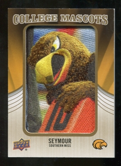 2013 Upper Deck College Mascot Manufactured Patch #CM113 Seymour D'Campus B