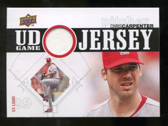 2010 Upper Deck UD Game Jersey #CC Chris Carpenter