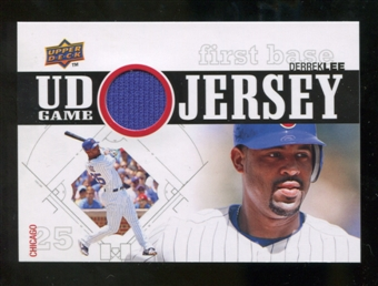 2010 Upper Deck UD Game Jersey #DL Derrek Lee