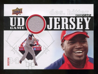 2010 Upper Deck UD Game Jersey #DO David Ortiz