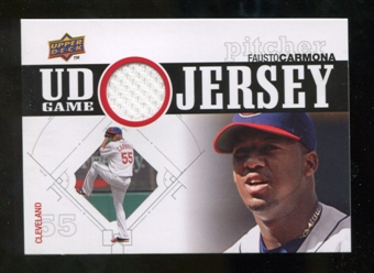 2010 Upper Deck UD Game Jersey #FC Fausto Carmona