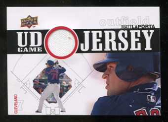 2010 Upper Deck UD Game Jersey #ML Matt LaPorta