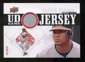 2010 Upper Deck UD Game Jersey #MM Melvin Mora
