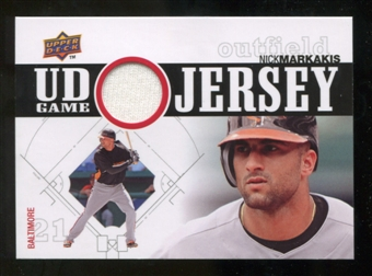 2010 Upper Deck UD Game Jersey #NM Nick Markakis