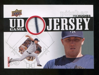 2010 Upper Deck UD Game Jersey #PH Phil Hughes