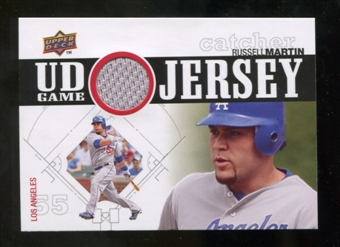 2010 Upper Deck UD Game Jersey #RM Russell Martin