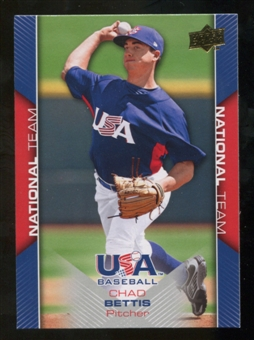 2009/10 Upper Deck USA Baseball #USA4 Chad Bettis