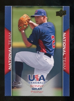 2009/10 Upper Deck USA Baseball #USA9 Sonny Gray