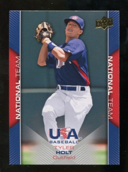 2009/10 Upper Deck USA Baseball #USA10 Tyler Holt