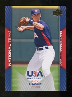 2009/10 Upper Deck USA Baseball #USA12 Rick Hague