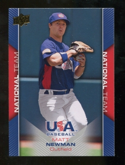 2009/10 Upper Deck USA Baseball #USA15 Matt Newman
