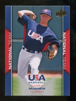 2009/10 Upper Deck USA Baseball #USA16 Casey McGrew