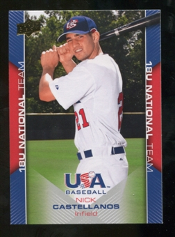 2009/10 Upper Deck USA Baseball #USA24 Nick Castellanos