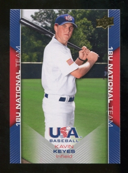 2009/10 Upper Deck USA Baseball #USA31 Kavin Keyes