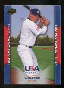 2009/10 Upper Deck USA Baseball #USA42 Tony Wolters