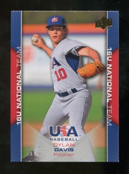 2009/10 Upper Deck USA Baseball #USA46 Dylan Davis