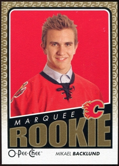 2009/10 OPC O-Pee-Chee #518 Mikael Backlund RC