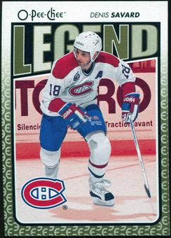 2009/10 OPC O-Pee-Chee #558 Denis Savard Legends
