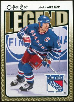2009/10 OPC O-Pee-Chee #564 Mark Messier Legends