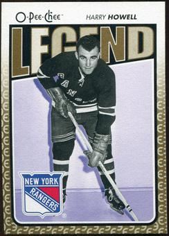 2009/10 OPC O-Pee-Chee #574 Harry Howell Legends