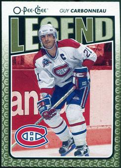2009/10 OPC O-Pee-Chee #575 Guy Carbonneau Legends