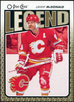 2009/10 OPC O-Pee-Chee #578 Lanny McDonald Legends