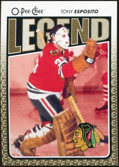 2009/10 OPC O-Pee-Chee #599 Tony Esposito Legends