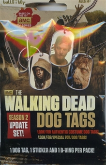 Walking Dead Season Two Dog Tags Update Pack (Breygent 2013)
