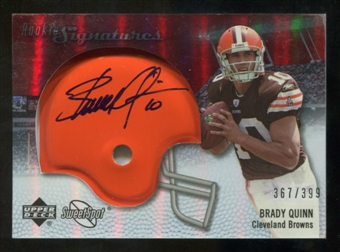 2007 Upper Deck Sweet Spot #136 Anthony Gonzalez RC Autograph /399
