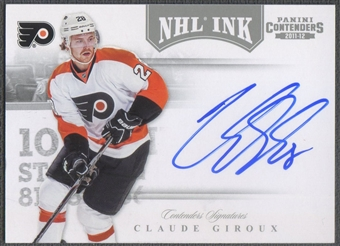 2011/12 Panini Contenders #46 Claude Giroux NHL Ink SP Auto /100