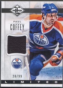 2012/13 Limited #LJPC Paul Coffey Limited Materials Jersey #28/99