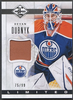 2012/13 Limited #LJDD Devan Dubnyk Limited Materials Jersey #75/99