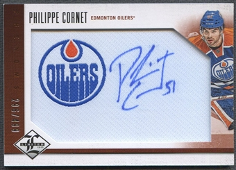 2012/13 Limited #225 Philippe Cornet Rookie Jersey Auto #296/499